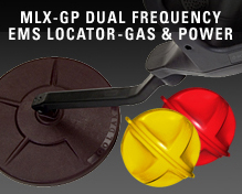 MLX-GP Dual Frequency EMS Locator-Gas & Power