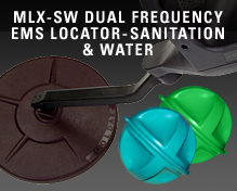 MLX-SW Dual Frequency EMS Locator-Sanitation & Water